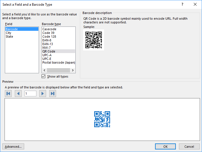 Easily create QR Codes in Word | Adam Dimech's Coding Blog